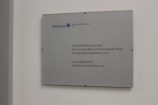 Dr. Hochreiter ist Belegarzt im Diakonissen Linz
